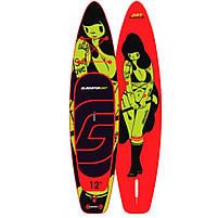 "Сапборд Gladiator ART 10'8"" x 34"" TATTOO 2021 - надувна дошка для САП серфінгу, sup board, фото 2"