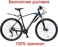 """Велосипед Cronus Baturo 520 29"""" Чёрный-Синий [CRN-20-003057] алюминиевый"""