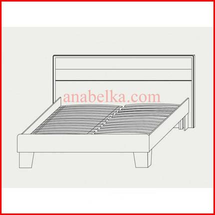 Кровать двуспальная Скарлет 160 (Сокме) , фото 2