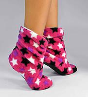 "Детские домашние тапочки td 02 ""Stars Pink"""