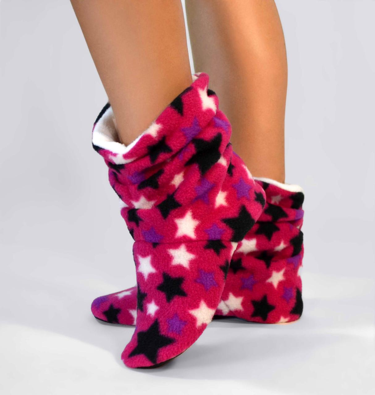 """Домашні тапочки tf 09 """"Stars Pink"""""""
