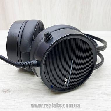 Компьютерные наушники Hoco W100 (чёрные), фото 2