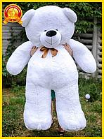 Большой плюшевый мишка 200 см белый, Мишки 2 метра, подарок для девушки на день рождения