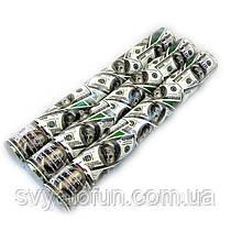 Хлопушка Доллары 37см