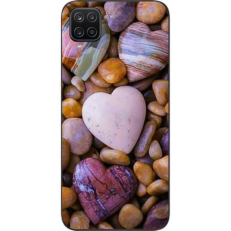 Чехол силиконовый для Samsung A12 Galaxy A125F с картинкой Камни, фото 2
