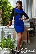 Платье рукав 3/4 трикотаж, фото 2
