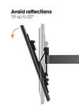 Кріплення настінний VOGELS W52070 Black, фото 6