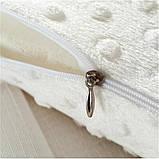 Ортопедическая подушка для сна Memory Pillow с памятью БЕЛАЯ, фото 4