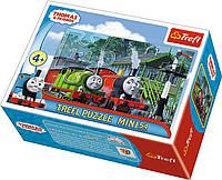 """Пазли - (54 елм. Міні) - """"Друзі Томаса"""" / Томас та його друзі / (54148)/Trefl"""