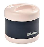 Термос для їжі Beaba 500 мл рожево-синій, арт. 912910