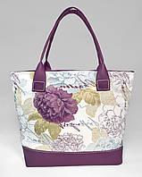 """Сумочка """"Jennifer"""" 31 квіти з фіолетовим"""