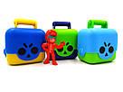 Фигурки Бравл Старс в чемоданчике Brawl Stars 3 в 1 (желтый, голубой, фиолетовый), фото 2