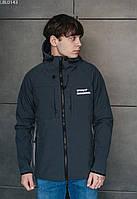 Куртка Staff soft shell dark gray тёмно-серый LBL0143