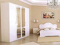 Спальный гарнитур Футура глянец белый 1