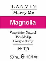 Олійна парфуми на розлив для жінок 115 «Lanvin Marry Me» 50 мл, фото 1