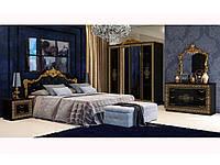 Спальный гарнитур Дженифер глянец черный 2