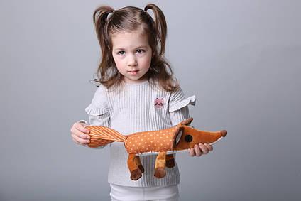 """Лисичка іграшка 40 см з мультфільму """"Маленький Принц"""" Лисиця"""