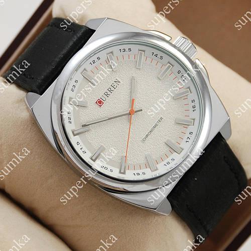 Классические наручные часы Curren Classico 8168 Silver\White 1008-0024