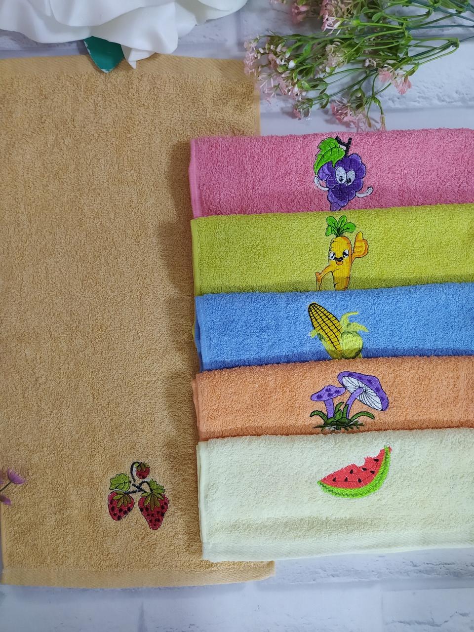Полотенце для кухни р. 55х30 см махра
