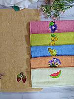 Полотенце для кухни р. 55х30 см махра, фото 1