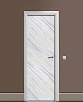 Виниловая наклейка на дверь Серый Камень Мрамор ПВХ пленка с ламинацией 65*200см Текстуры Серый