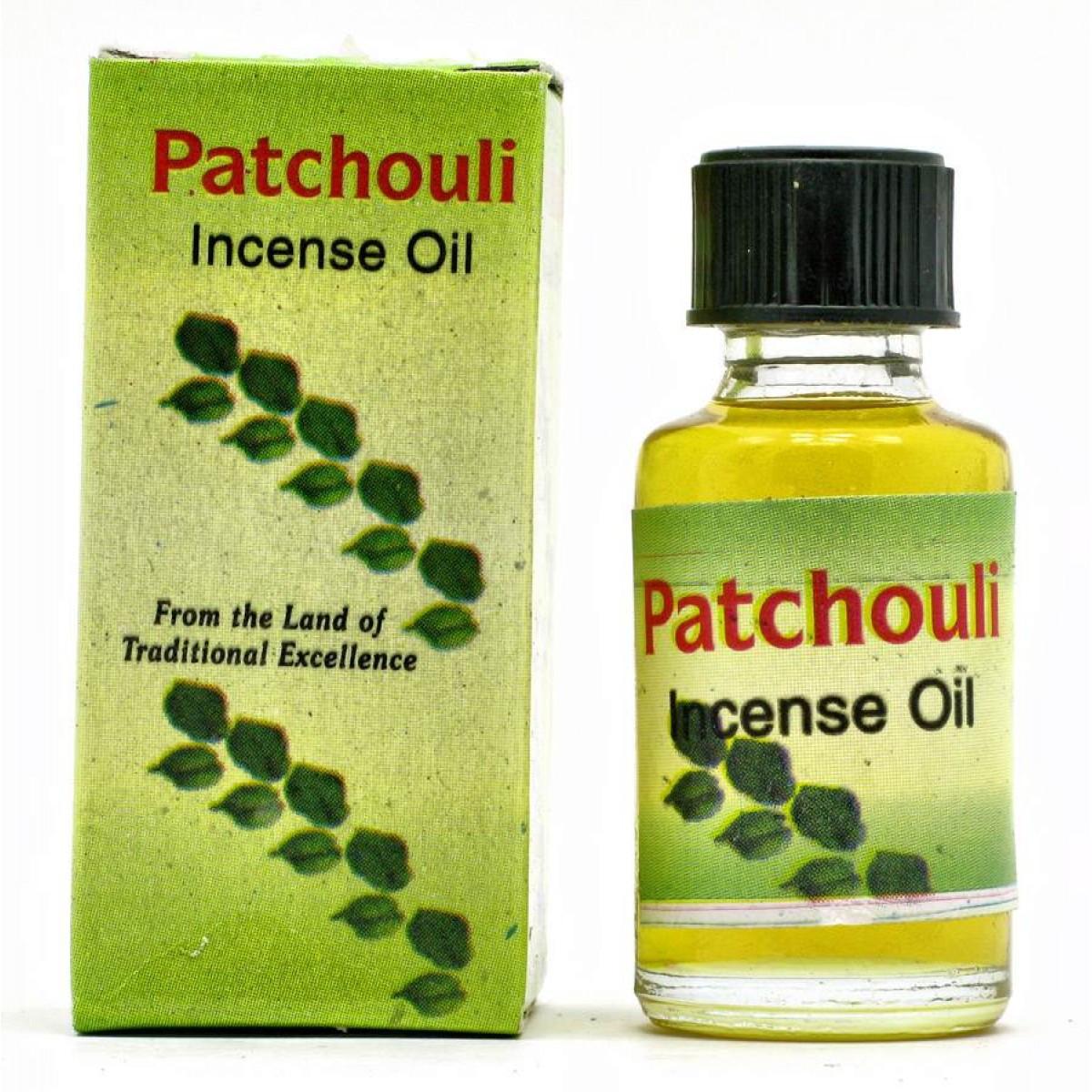 Масло Пачули натуральное для ароматерапии 8 мл