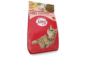 Сухой корм Мяу 0,4кг с кроликом для котов