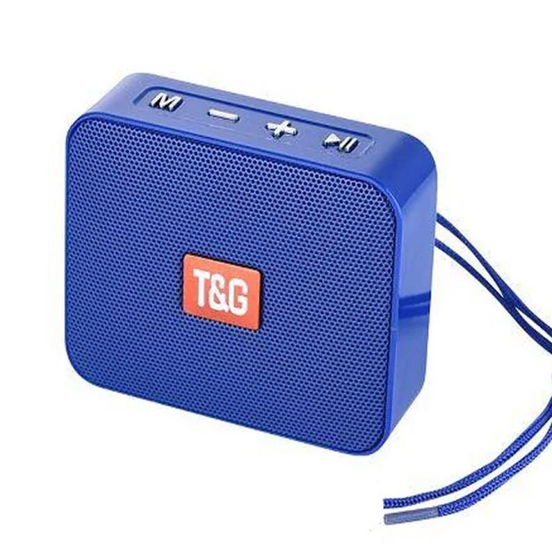 Портативная bluetooth колонка T&G TG-166, Синий