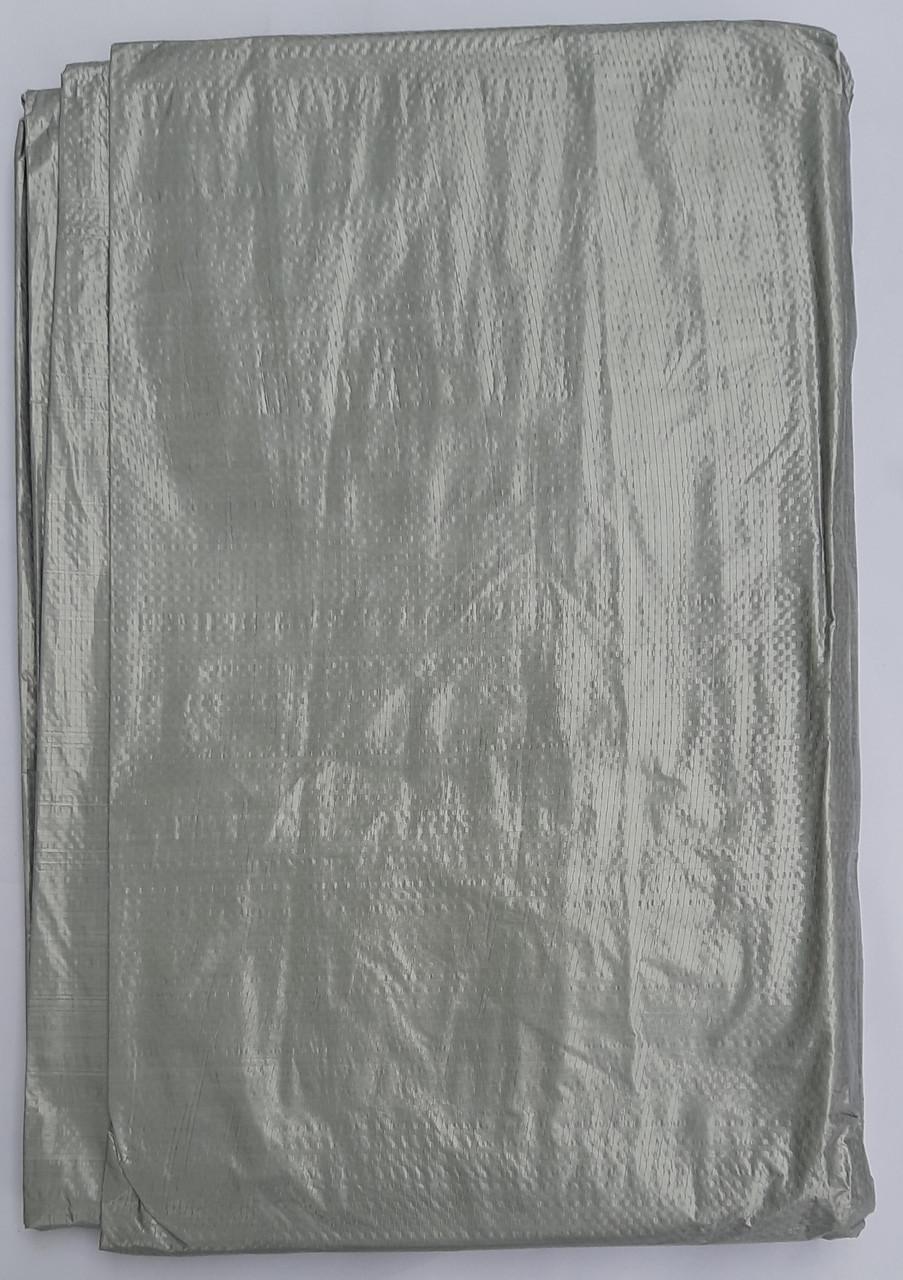 "Тент ""Серый"" 5х6м, плотность 100 г/м2"