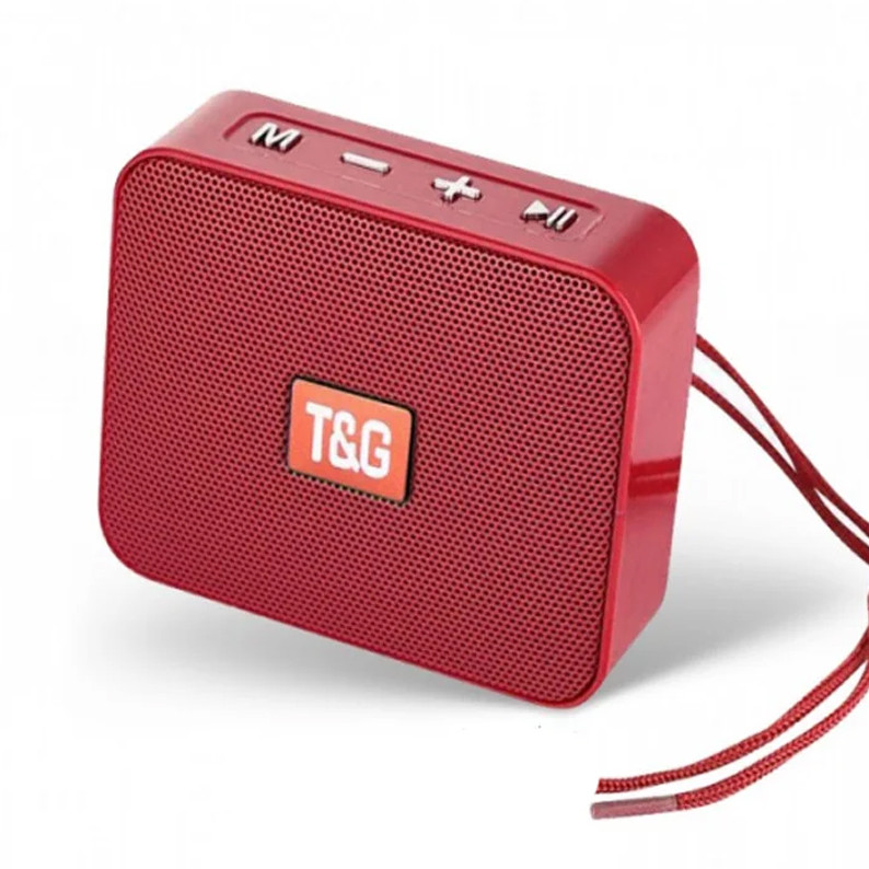 Портативная bluetooth колонка T&G TG-166, Красный
