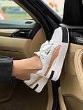 Жіночі кросівки Puma Cali white/gold, жіночі кросівки Пума Калі (Репліка ААА), фото 2