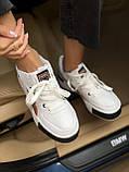 Жіночі кросівки Puma Cali white/gold, жіночі кросівки Пума Калі (Репліка ААА), фото 8