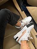 Жіночі кросівки Puma Cali white/gold, жіночі кросівки Пума Калі (Репліка ААА), фото 6