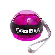 Power Ball тренажер для кистей рук без стартера Forse Ball (металл, пластик, d-7см), фото 4