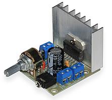 Аудио усилитель TDA7297 2х15Вт 12В с регулятором, плата