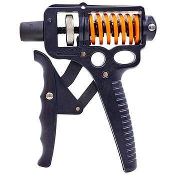 Эспандер кистевой с регулируемой нагрузкой 20-130кг CIMA Grip Ultra (1шт) (металл)