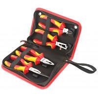 Набор инструментов Tolsen плоскогубцев диелектрических VDE 4 шт Premium (V83204)