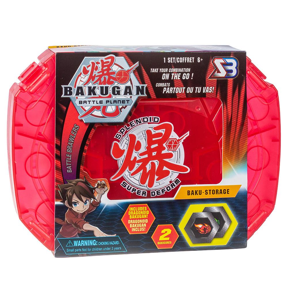 Кейс для хранения бакуганов + Бакуган SB Bakugan Battle planet красный