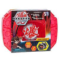 Кейс для хранения бакуганов + Бакуган SB Bakugan Battle planet красный, фото 1