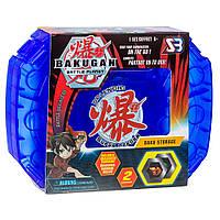 Ігровий набір SB Bakugan Battle planet Кейс для зберігання бакуганов синій і Бакуган, фото 1