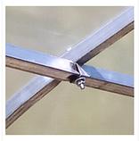Каркаси теплиць «Алмір» шириною 5 м під плівку з квадратної оцинкованої труби 30х30х1,5 мм, фото 5