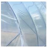 Каркаси теплиць «Алмір» шириною 5 м під плівку з квадратної оцинкованої труби 30х30х1,5 мм, фото 3