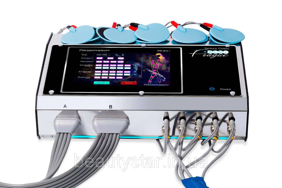 Аппарат прессотерапии и лимфодренажного массажа на 20 каналов PR-801 ALVI