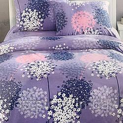 """""""нежное цветочное"""" постельное белье Elway Premium евро размер 200*220 см,ткань сатин 100% хлопок"""