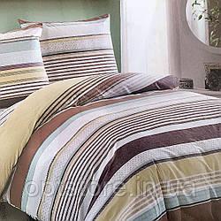 """""""полоса"""" постельное белье Elway Premium евро размер 200*220 см, ткань сатин 100% хлопок"""