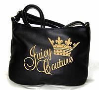 """Сумочка """"Мini"""" - №228 """"Juicy Couture (корона)"""" черная"""