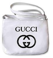 """СУМОЧКА """"МINI"""" - №234 """"Gucci"""" - белая, фото 1"""