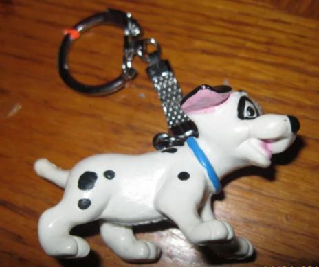 Брелок на ключі собака долматинец сувенір Німеччина