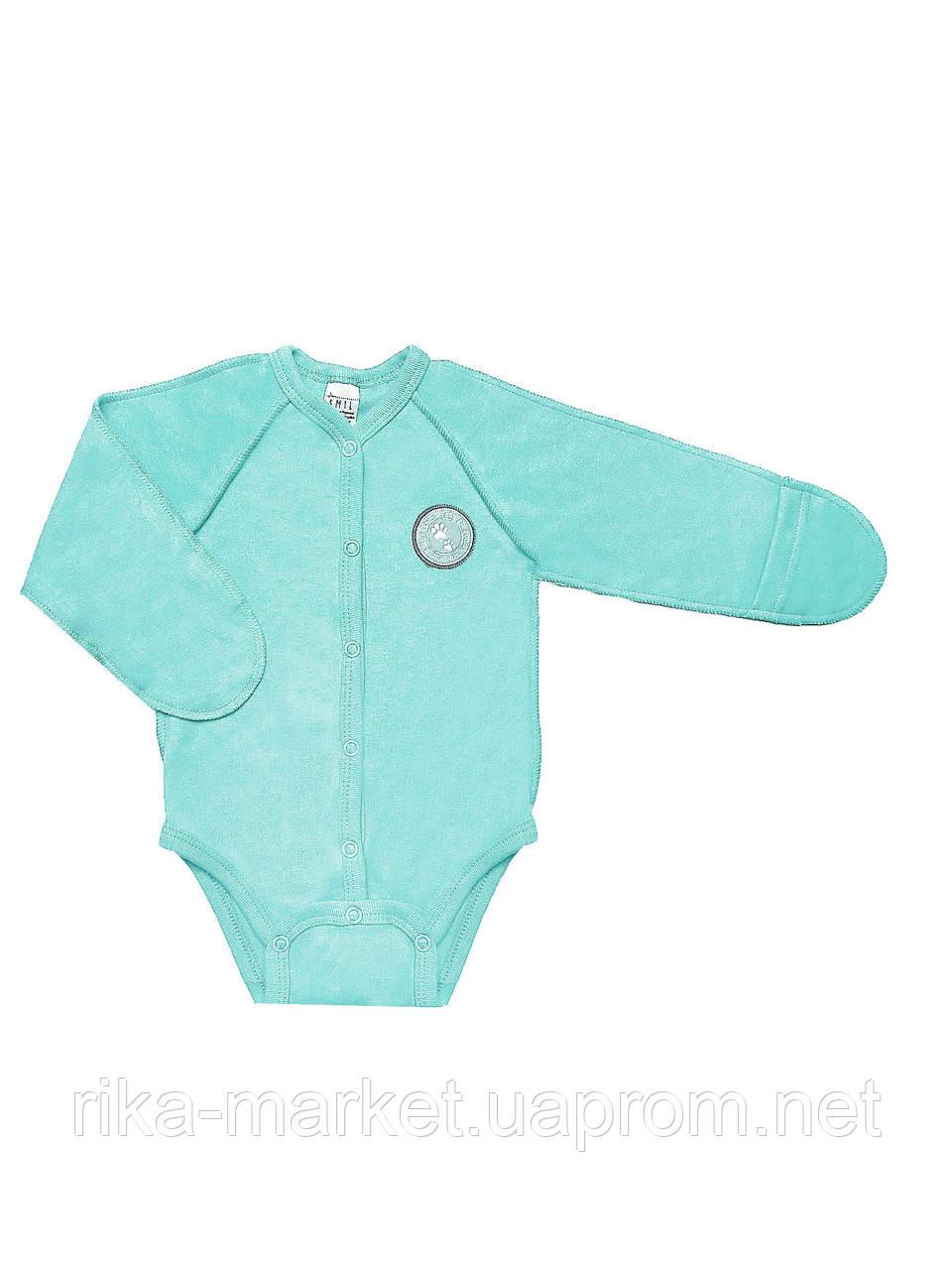 Боди-футболка для мальчика ТМ Смил, арт. 102487,   1-3 месяцев