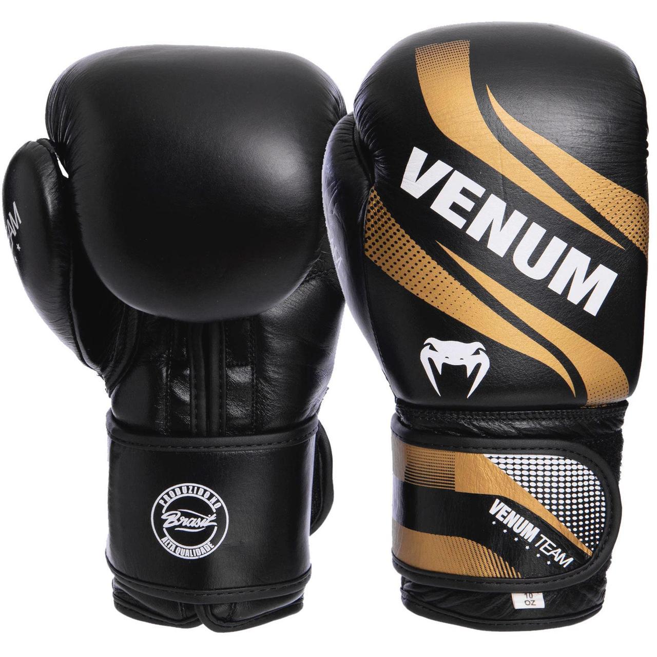 Перчатки боксерские кожаные на липучке VNM COMMANDO VL-2040 (р-р 10-14oz, цвета в ассортименте)